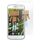atFolix Displayschutz für Samsung Galaxy Core LTE Spiegelfolie - FX-Mirror Folie mit Spiegeleffekt