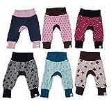 MyLeeni, Pumphose'Monkey Pants' Sterne, Totenkopf, Hase, Herz, Vogel, Pferd, Gr. 50, Neugeborene, Jungen, Mädchen, Hose