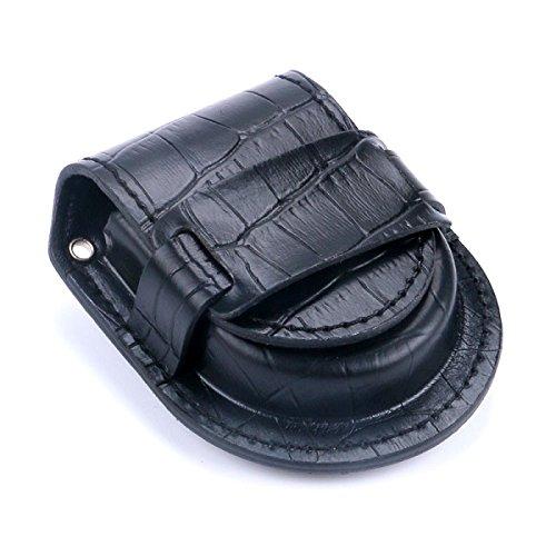 Schutzhülle für Taschenuhr schwarz.