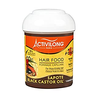 Activilong Actiforce Hair Food Black Castor Oil Sapote Kastoröl und Sapote-Butter 125 ml
