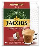 JACOBS Cafe Au Lait Kaffee, Nescafé Dolce Gusto kompatible Kapseln (R) * 9er Pack (9 x 14 Getränke)