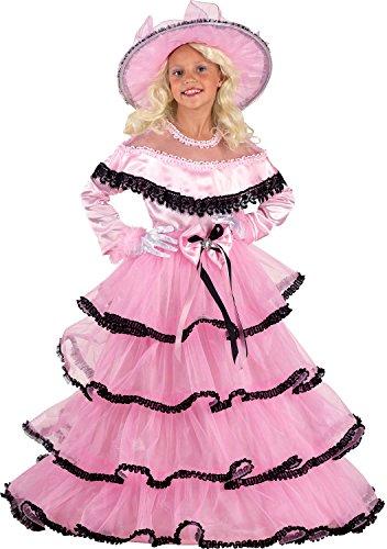 Chiber - Scarlett O'Hara - Kostüm für Mädchen (Größe 6)