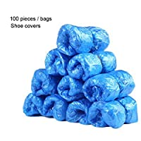 Cleaing Blue Disposable Boot & Shoe Covers Machine-made , 4000 Piece (Standard)