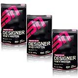 ESN Designer Whey Protein, Cookies & Cream, 3er Pack (3 x 1000g)