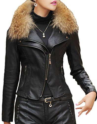 helan-womens-pu-leather-short-motocycle-sports-jacket-with-real-raccoon-fur-collar-black-uk-6