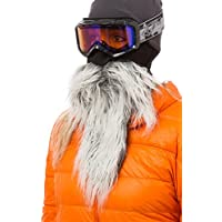 Beardski - Maschera da sci con barba e baffi