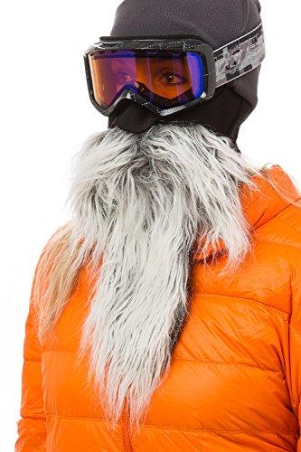Beardski Mustache Skimaske mit Bart - Bart-maske