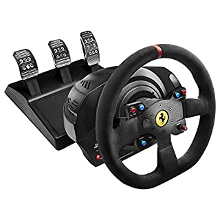 Thrustmaster T300 Ferrari Integral Alcantara Edition (Lenkrad inkl. 3-Pedalset, PS4 / PS3 / PC) (B014UOF0S8)   Amazon Products