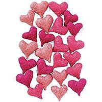Sisalherzen Als Streudeko Für Die Tischdeko Bei Der Hochzeit Oder Die  Liebeserklärung, Romantische Deko Herzen