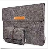 ATUSIDUN 15,4-15,6 Zoll Filz Sleeve Hülle Notebook Laptop Tasche für 15,4