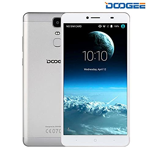 SIM Free Mobile Phones, DOOGEE Y6 MAX Dual SIM Unlocked Smartphones, 4G 6.5 Inch FHD Display with Android 6.0 Smart Phone - 3GB RAM + 32GB ROM - 5MP + 13MP - 4300mAh -