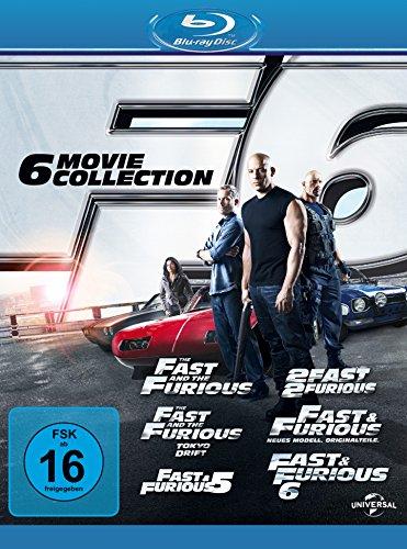 fast and furious 1 7 blu ray Fast & Furious 1-6 [Blu-ray]