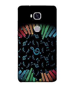 FUSON Designer Back Case Cover for Huawei Honor 5X :: Huawei Honor X5 :: Huawei Honor GR5 (Art Classic Guitar Hobby Instrument )
