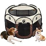 Vovoly Box per cani, pieghevole pieghevole impermeabile gabbia lavabile, uso interno ed esterno - 70 cm x 45 cm