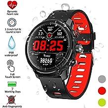 Smartwatch, Kivors Reloj Inteligente IP68 Impermeable Bluetooth SmartWatch con Múltiples Modos de Deportes, Fitness