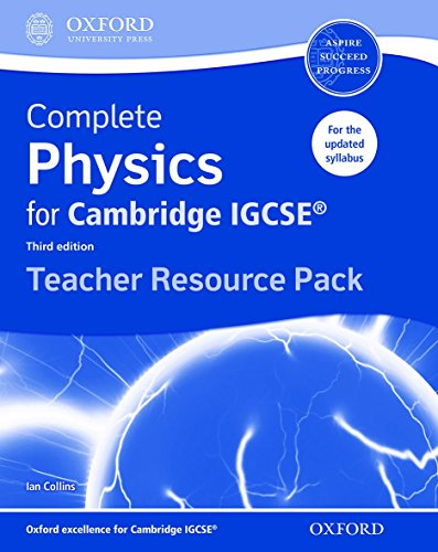 Complete Physics for Cambridge IGCSE ® Teacher Resource Pack (Complete Science Igcse)