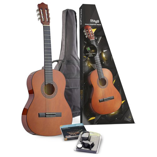 stagg-c542-full-size-classical-guitar-pack