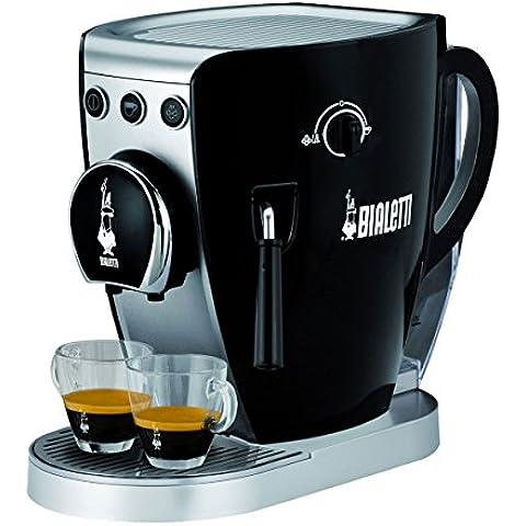 BIALETTI TAZZISSIMA TRIO CF37 MACCHINA CAFFE' ESPRESSO TRIVALENTE CAPSULE CAFFE' MACINATO MACINATO CIALDE (caffè e Espresso Makers)