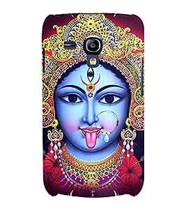 Maa Kaali 3D Hard Polycarbonate Designer Back Case Cover for Samsung Galaxy S3 mini I8190 :: Samsung I8190 Galaxy S III mini :: Samsung I8190N Galaxy S III mini