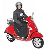 Keep dry and water spray free on your scooter! Effective alternative to motorcycle rain over trousers. Also available with thermal lining.