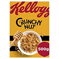 Kellogg's Crunchy Nut Corn Flakes Cereal, 500 gm (50083426081)