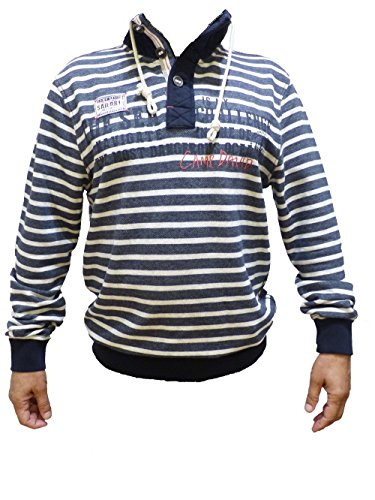 CAMP DAVID SWEATSHIRT HEAVY STORM DEEP SEA CCB-1708-3720 M L XL XXL XXXL (XXXL)