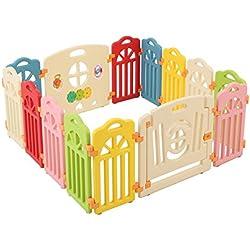 Surreal - château en plastique Infant & Baby Playpen - 14 Panneaux