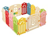 Surreal - Castle Infant & Baby Playpen - 14 Colourful Panels -