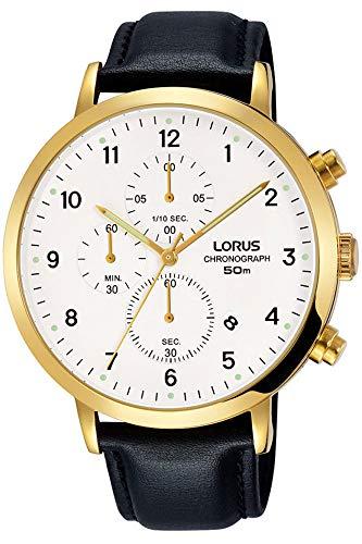 Lorus Reloj Cronógrafo para Hombre de Cuarzo con Correa en Cuero RM314EX9