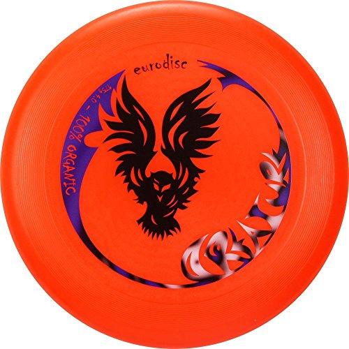 Eurodisc-Ultimate Creature 175gr Disco del Deporte, ed5133r, rojo