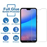 Tempered Glass for Huawei Honor P20 Lite,Premium Oil Resistant Coated Tempered Glass Screen Protector Film Guard for Huawei Honor P20 Lite