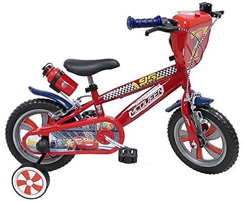 Velo Cars 12 - Disney Cars Chrome Vélo Enfant Rouge
