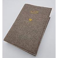 Gotteslobhülle Gebetsbuch Hülle aus Wollfilz handmade in Deutschland, passend für Ausgaben ab 2013
