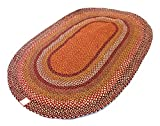 Best Braided Rugs - Second Nature Online Oval Border Thick Stripe Braided Review