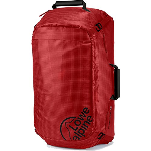 LOWE ALPINE AT KIT BAG 40 BACKPACK (PEPPER RED/BLACK)