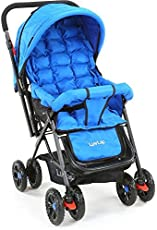 Luvlap Blossom Baby Stroller (Blue)