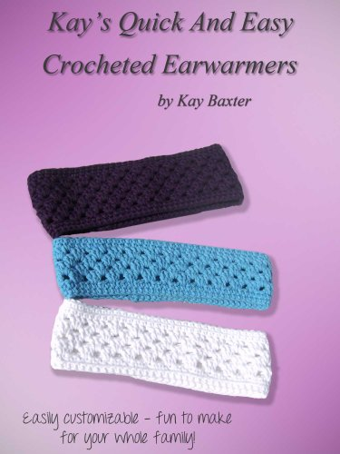 Crochet Pattern Ear Warmer Headband & Matching Fingerless Gloves (English Edition) -