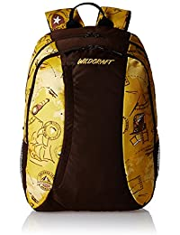 Wildcraft Loco VO Polyester Yellow Casual Backpack(8903338018537)