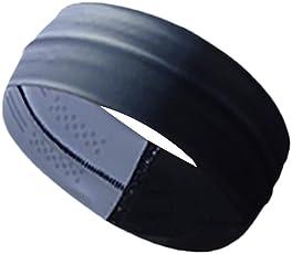 Outgeek Sport Headband Elastic Headband Anti Slip Moisture Wicking Athletic Headband Yoga Headband for Running Workout Fitness