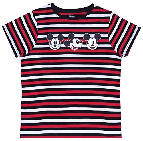 Blusa Negra a Rayas Mickey Mouse Disney S