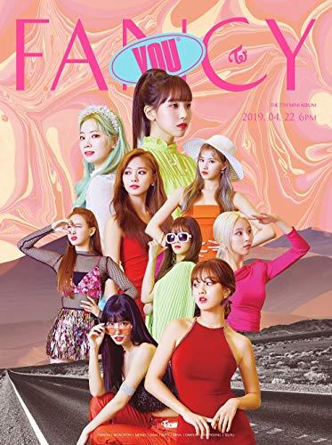 JYP Twice Fancy You [A ver.] (7. Mini-Album) CD + Fotobuch + 5 Fotokarten + Aufkleber + Vorbestellvorteil + gefaltetes Poster + doppelseitiges Fotokartenset -