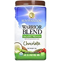 Sunwarrior Organic Warrior Blend Protein Chocolate 1kg