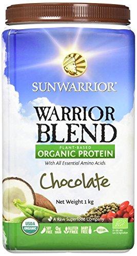 Sunwarrior proteina vegetale cioccolato warrior blend - 1000 g