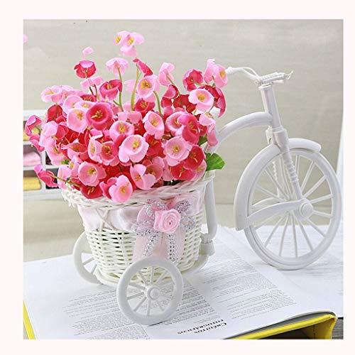 Vasetti per piantine huiqi mini modello di bicicletta soggiorno armadietto del vino decorazione piccoli ornamenti tv gabinetto punto arte galleggiante ragazza decorazione della stanza fiore stand orna