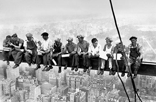 REINDERS Essen über Manhattan - Poster 175 x 115 cm