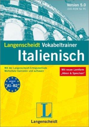 Langenscheidt Vokabeltrainer 5.0 Italienisch. Windows 7; Vista; XP; 2000: Mit der Langenscheidt-Erfolgsmethode Wortschatz trainieren und aufbauen