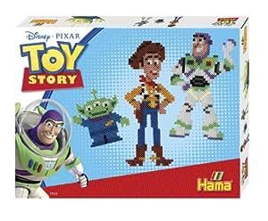Hama – 7935 – Boîte cadeau – Toy Story – 4000 Perles à Repasser