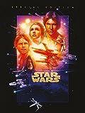 Star Wars, Stampa su tela, 60 x 80 cm, motivo: Guerre Stellari IV/A New Hope
