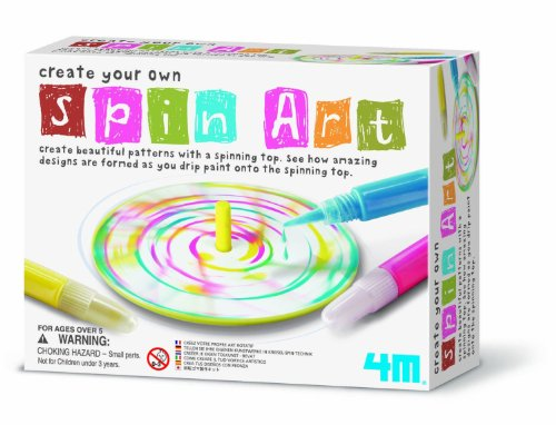 Create Your Own Spin Art - Boys Girls Children Kids - Arts & Crafts Activity Set - Latest Birthday Gift Present Fun Games & Toys Idea Age 5+