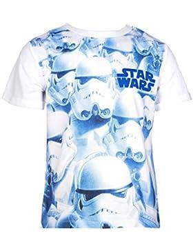 Star Wars T-Shirt für Kinder, original Lizenzware,weiß, Gr. 104-140